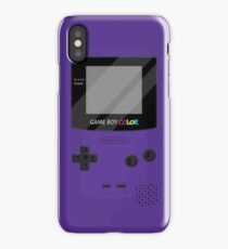 Gameboy Color 2.0 - Purple iPhone Case