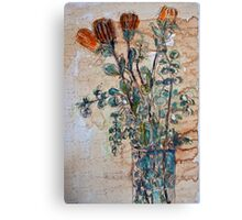 Australian flowers Canvas Print