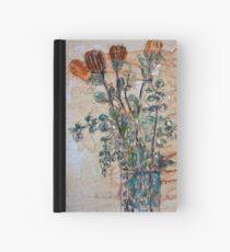 Australian flowers Hardcover Journal