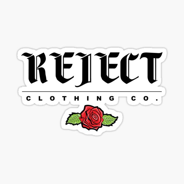 Basic REJECT Tee Sticker