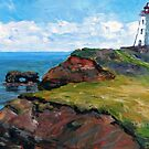 Cap Egmont Lighthouse PEI by TerrillWelch