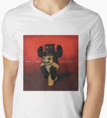 Fall Out Boy Folie ein Deux Wandflaggen Schal T-Shirt mit V-Ausschnitt