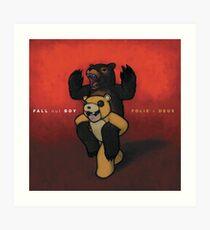 Fall Out Boy Folie a Deux wall flag scarf Art Print