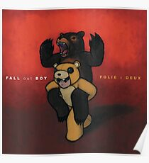fall out boy posters redbubble