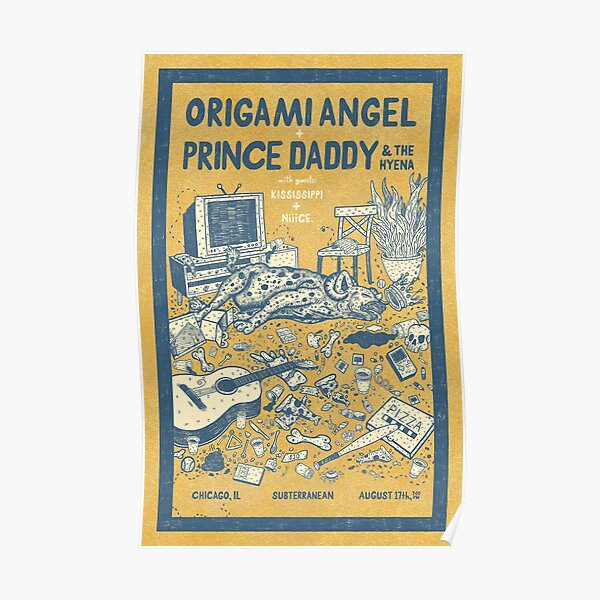 Origiami Angel + Prince Daddy Poster Poster
