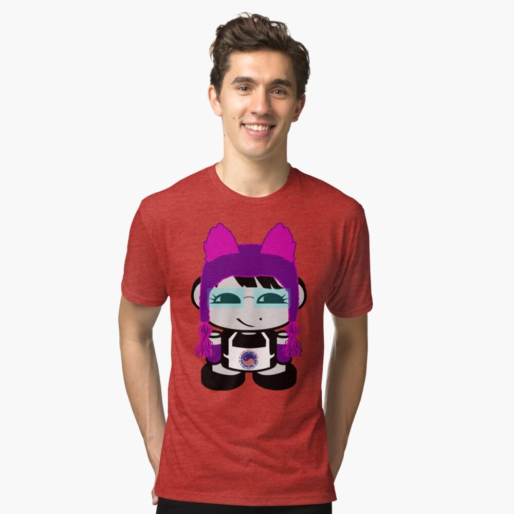Ogi Gogi O'BOT Toy Robot 1.0 Tri-blend T-Shirt