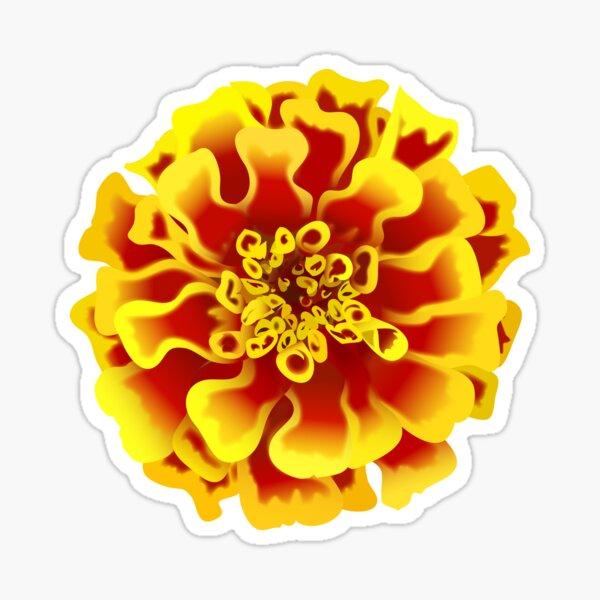 Marigold  Sticker