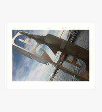C2C Sculpture, Whitehaven Art Print