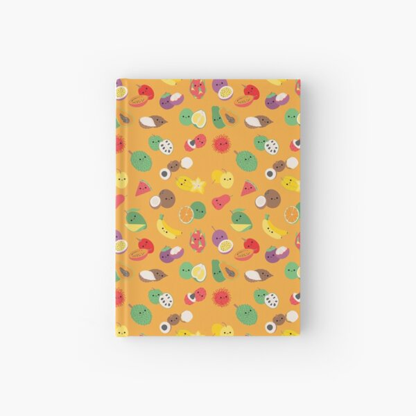 Fruity fruits Hardcover Journal