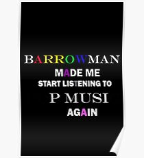 Barrowman made me do it (colorful) Poster