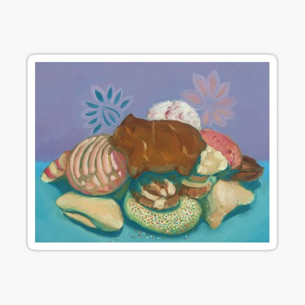 Mexican Sweet Bread Sticker