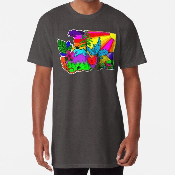 Neon WA Long T-Shirt