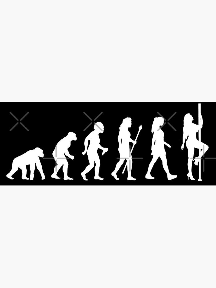 Funny Pole Dancing Stripper Evolution by BeyondEvolved