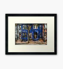 City - Bike - Alexandria, VA - The urbs Framed Print