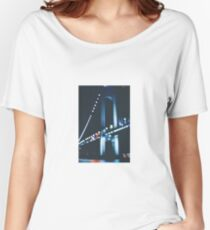 Bridge at night Women's Relaxed Fit T-Shirt
