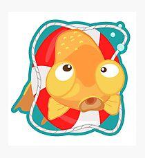 Cute Goldfish Photographic Print