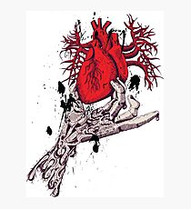 Hearth in Hand, Red and Naked hearth Photographic Print