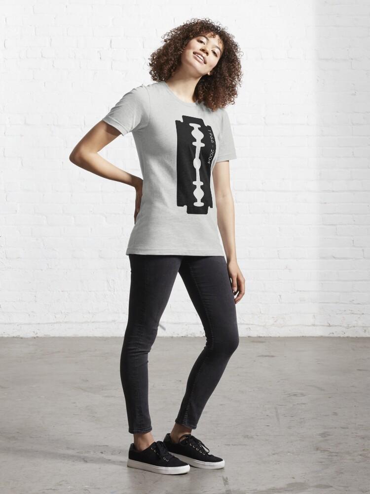 Alternate view of Dimebag Darrell Razor Necklace Graphic T-Shirt Essential T-Shirt