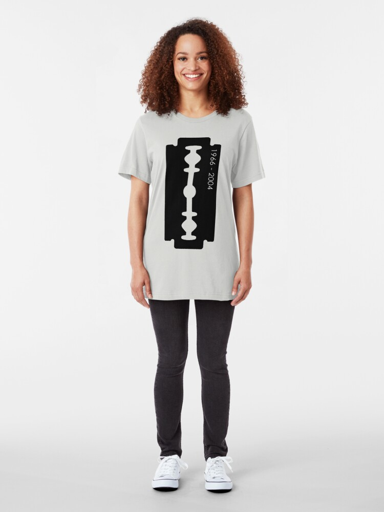Alternate view of Dimebag Darrell Razor Necklace Graphic T-Shirt Slim Fit T-Shirt