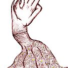 Dressed-up hand by Initially NO