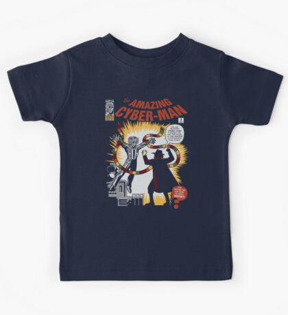 The Amazing Cyber-Man! Kids Clothes