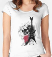 Trash Polka Dimebag Darrell Women's Fitted Scoop T-Shirt