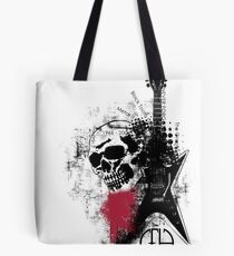Trash Polka Dimebag Darrell Tote Bag