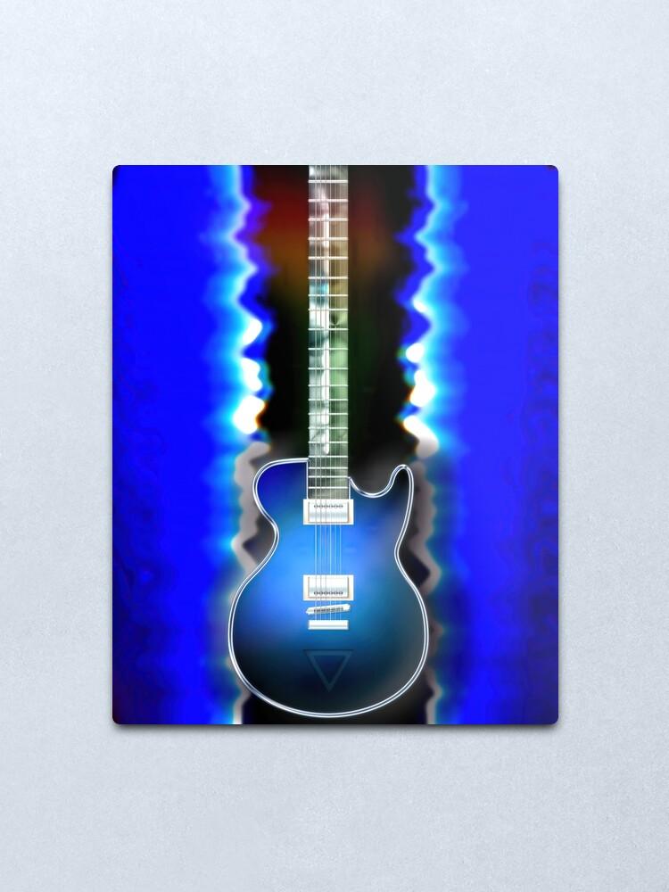 Alternate view of Everyday #9 Guitar God Metal Print