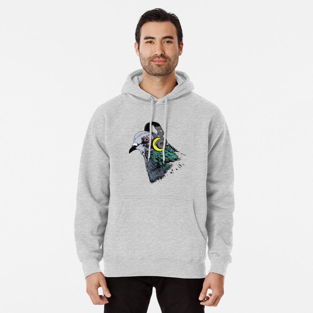 Techno Pigeon v2 Pullover Hoodie