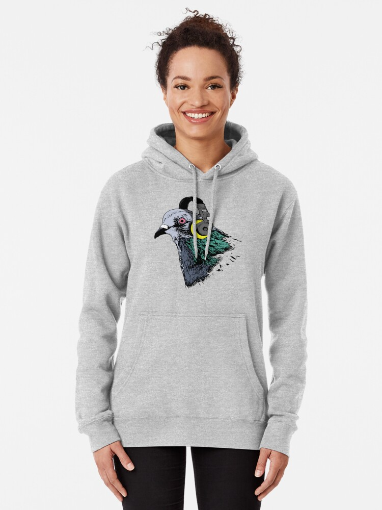 Alternate view of Techno Pigeon v2 Pullover Hoodie