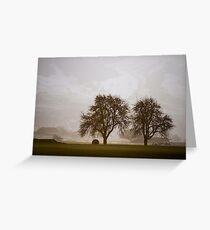Rural Landscape #4 Greeting Card