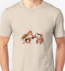 Donkey kong and Diddy Kong Unisex T-Shirt