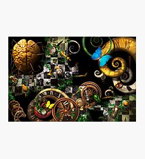 Steampunk - Surreal - Mind games Photographic Print