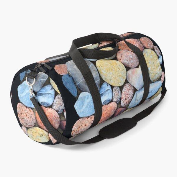 Colorful Beach Pebbles Duffle Bag