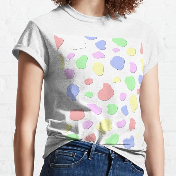Pastel Blotches Classic T-Shirt
