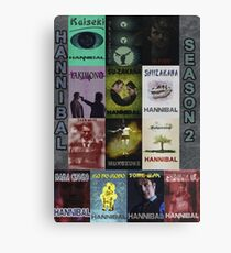 Hannibal - Season 2 Posterwall Canvas Print