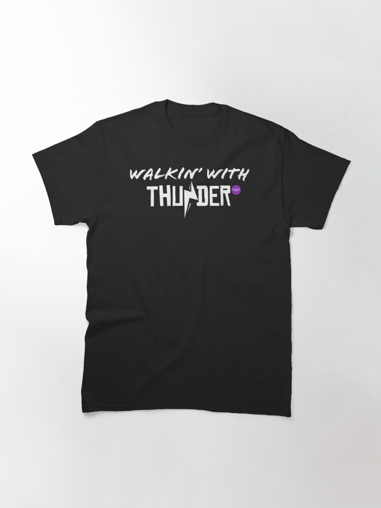 Alternate view of Chicago Dime Walkin' With Thunder Classic T-Shirt