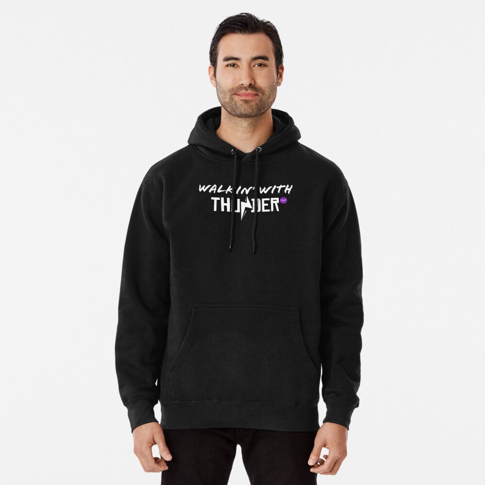 Chicago Dime Walkin' With Thunder Pullover Hoodie