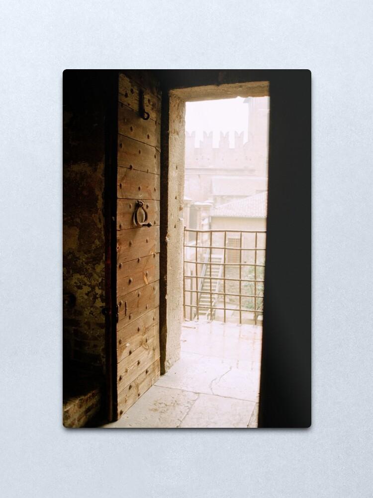 Alternate view of Castelvecchio, Verona Metal Print