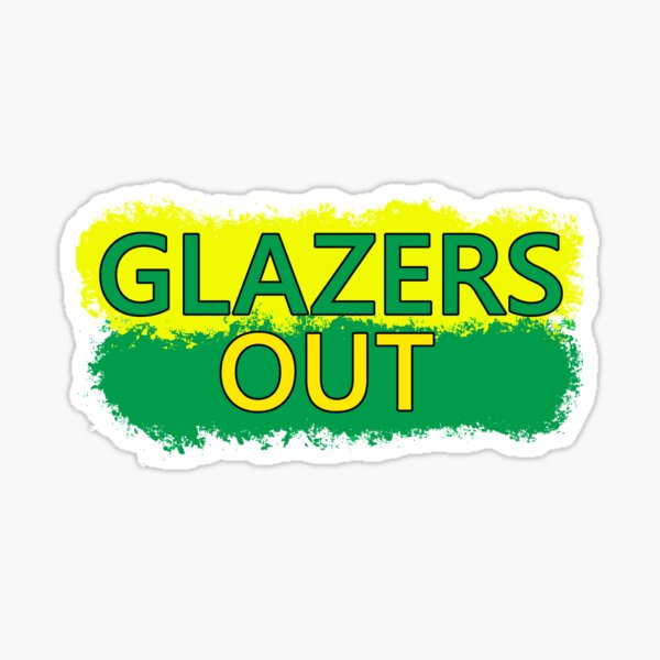 Glazersout  Sticker