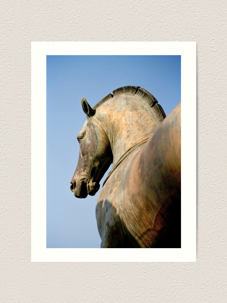 Alternate view of Bronze Horse, San Marco Art Print