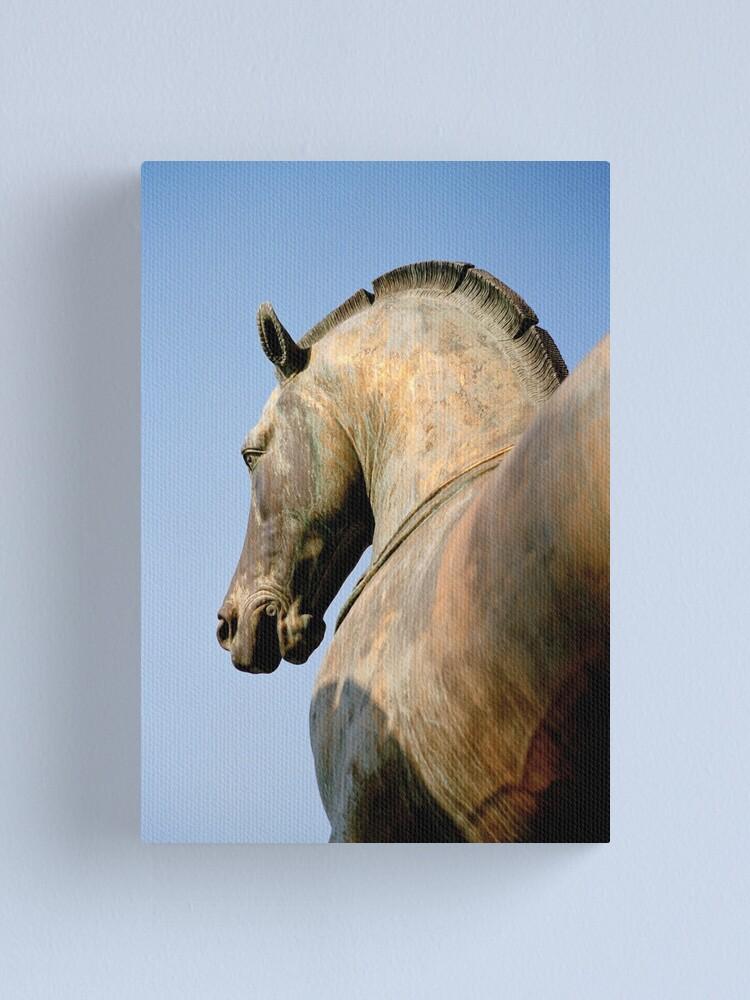 Alternate view of Bronze Horse, San Marco Canvas Print