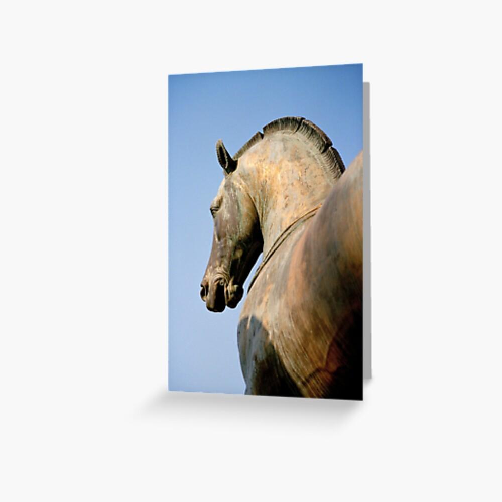 Bronze Horse, San Marco Greeting Card