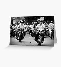 Traffic ... Ho Chi Minh City , Vietnam ... #03 Greeting Card