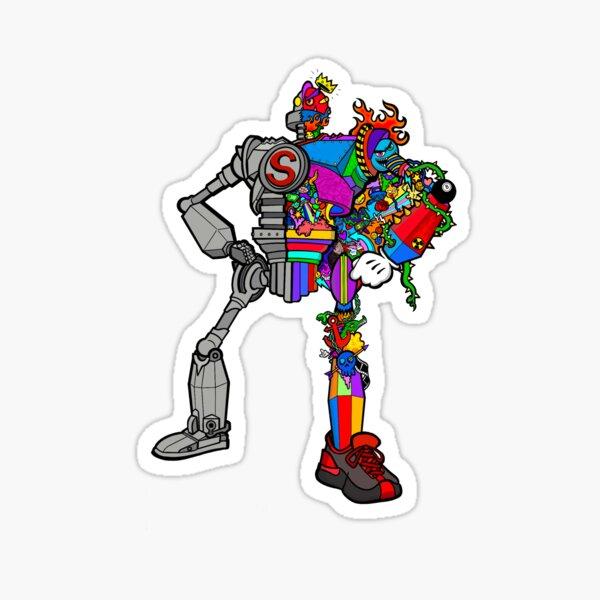 Robot Giant Sticker