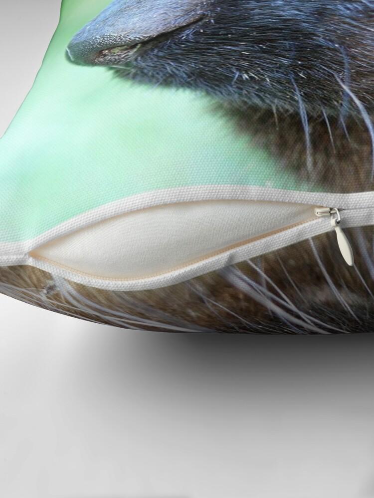 Alternate view of Siamese Throw Pillow