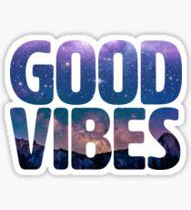 Good Vibes Galaxy Sticker