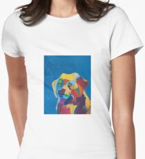 'Dog' by Zoe Nankivell (2016) Women's Fitted T-Shirt