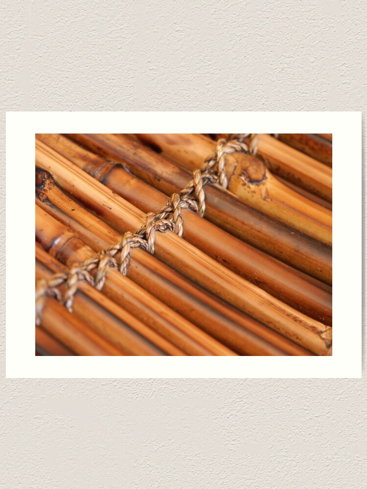 Alternate view of Bamboo Art Print