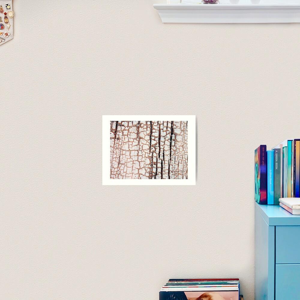 Crackling Art Print